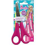 Детские ножницы 13 см, с блистером Barbie, Mattel