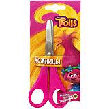 Детские ножницы 13 см, с блистером Trolls