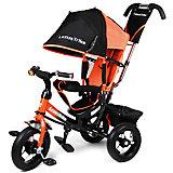 Трехколесный велосипед, оранжевый+черный, Lexus Trike LR