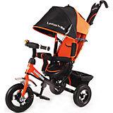 Трехколесный велосипед, регулир. спинка,оранжевый, Lexus Trike LT