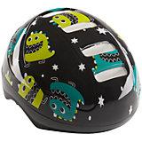 "Шлем защитный ""STONEHEAD"", черный, Happy Baby"