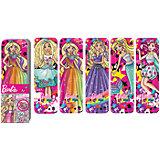 """Набор закладок фигурных """"Barbie"""", 5 шт., Limpopo"""