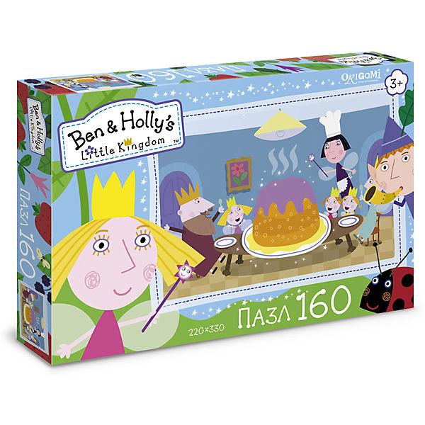 """Пазл """"Праздничный торт"""", Бен и Холли, Origami"""