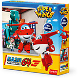 "Пазл ""Полет в Данию"", Super Wings, Origami"