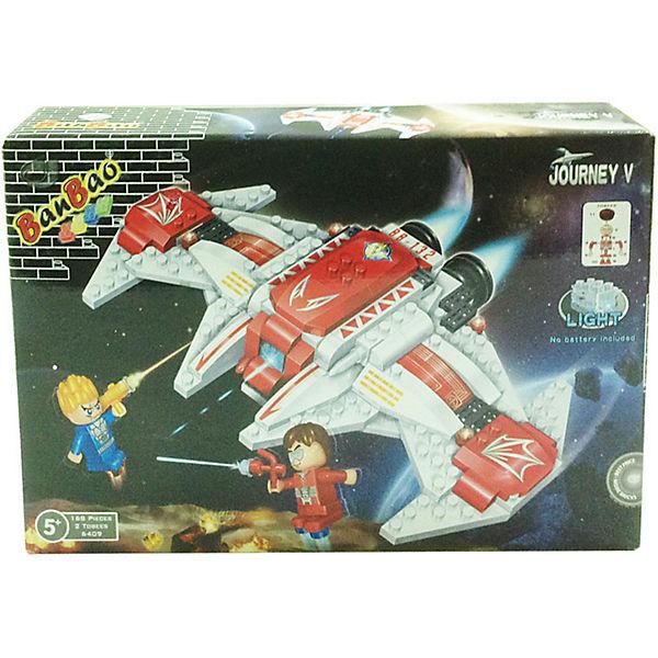 Конструктор Космический летательный аппарат, 168 дет., BanBao