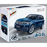 Конструктор Машина BMW X5, синий цвет, 1:28, BanBao
