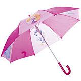 Зонт-трость 46 см, автоматический, фиолетовый, Disney Princess