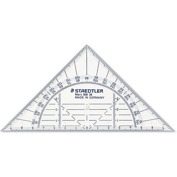 Геометрический треугольник Mars  16 см, Staedtler