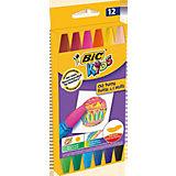 Пастель масляная BIC Kids, 12 цветов