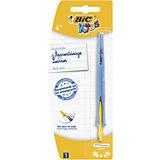 Ручка шариковая для детей Bic Kids Click, цвет: синий