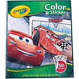 """Раскраска с наклейками """"Тачки 3"""""""