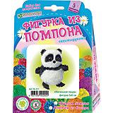 """Набор для изготовления брелока """"Маленькая панда"""", пряжа бисер"""