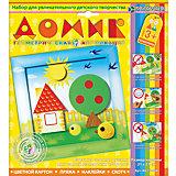 """Набор для изготовления картины """"Домик"""", для детей старше 3 лет"""