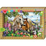 """Набор для изготовления картины """"Я люблю лошадок"""""""
