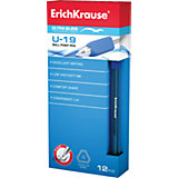 Ручка шариковая Ultra Glide Technology U-19, 12 шт., Erich Krause