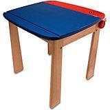 Стол с контейнером для ручек деревянный, I'm Toy, голубой