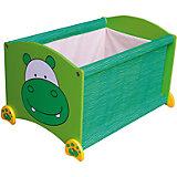 Ящик для хранения Бегемот, I'm Toy, зеленый