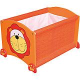 Ящик для хранения Тигр, I'm Toy, оранжевый
