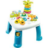 Развивающий игровой стол, синий, Smoby