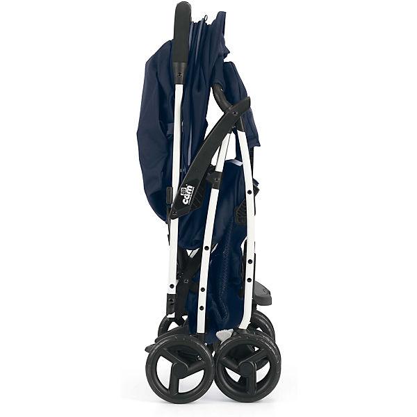 Прогулочная коляска CAM Curvi, серо-бирюзовая