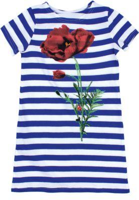 Платье для девочки Апрель - синий