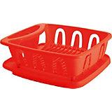 """Сушилка для посуды с поддоном """"Люкс"""", Plastic Centre"""