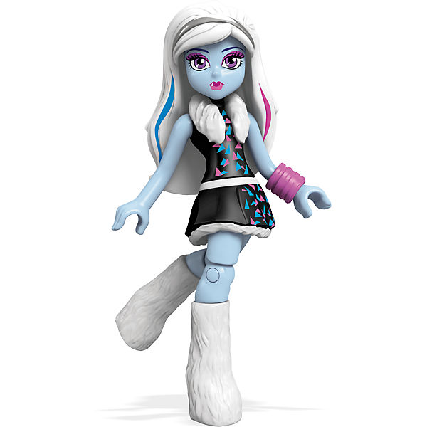 "Мини-кукла Mega Bloks ""Monster High"" Эбби Боминейбл 12,5 см"
