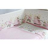 Комплект в кроватку Мишки, 6 пред., Pituso, розовый