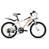Велосипед  Peak 20, бело-оранжевый, Welt