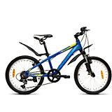 Велосипед  Peak 20, черно-голубой, Welt
