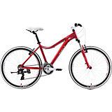 Велосипед  Edelweiss 1.0, 17 дюймов, темно-красный, Welt