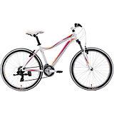 Велосипед  Edelweiss 1.0, 17 дюймов, бело-фиолетовый, Welt