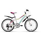 Велосипед  Edelweiss 20, бело-фиолетовый, Welt