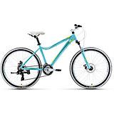 Велосипед  Edelweiss 1.0 D, 17 дюймов, голубо-зеленый, Welt