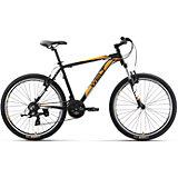 Велосипед  Ridge 1.0 V, 16 дюймов, черно-оранжевый, Welt