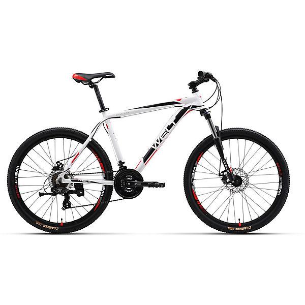 """Велосипед  Ridge 1.0 D, 20"""", бело-черный, Welt"""