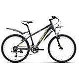 Велосипед  Peak 24, черно-зеленый, Welt
