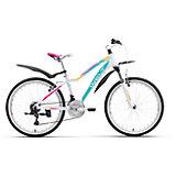 Велосипед  Edelweiss 24, бело-фиолетовый, Welt