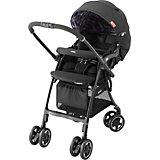 Прогулочная коляска Aprica Luxuna CTS, чёрный