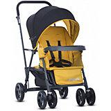 Прогулочная коляска для двойни Joovy Caboose Graphite, желтый