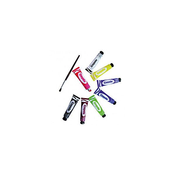 Темперные краски, 8 цветов, Crayola