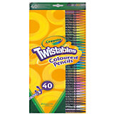 Набор для творчества «40 выкручивающихся цветных карандашей», Crayola