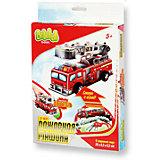 "3D пазл Basic ""Пожарная машина"" маленькая, Bebelot"