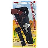 """Револьвер с кобурой """"Опасные приключения"""", 19 см, Mioshi Army"""
