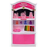 """Набор мебели для кукол """"Книжный шкаф"""", DollyToy"""