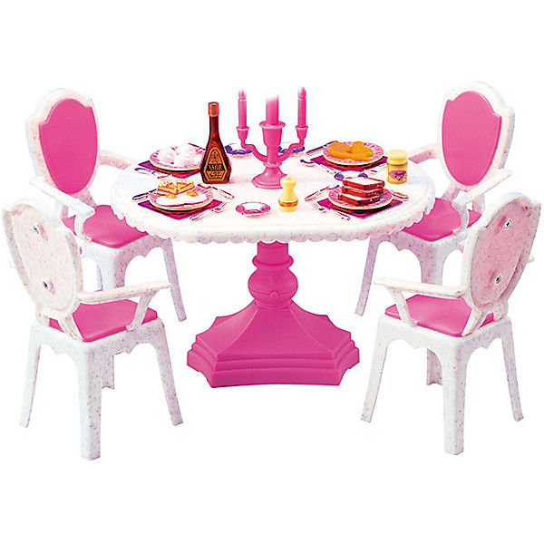 """Набор мебели для кукол """"Обеденный стол"""", DollyToy"""