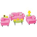 """Набор мебели для кукол """"Гостиная люкс"""", DollyToy"""