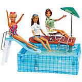"""Набор мебели для кукол """"Вечеринка в бассейне"""", DollyToy"""