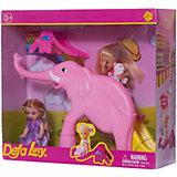 """Набор из 2-х кукол """"В зоопарке"""", 11 см, 14 см, Defa Lucy"""