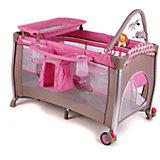 Манеж-кровать Flora Grils Toys, Pituso